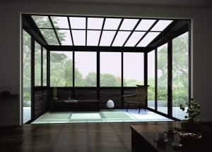 和風サンルーム ガーデンルーム