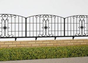 お値打ち鋳物フェンスの外構工事