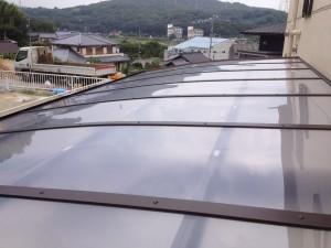 ポリカ屋根カーポート