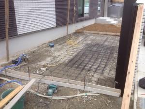 コンクリートの準備