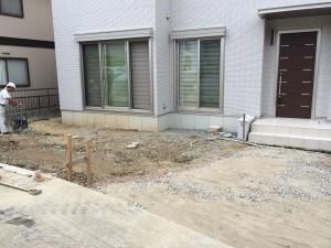 広いお庭スペースの確保