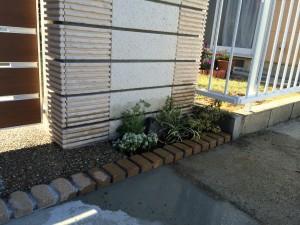 門周りの植栽