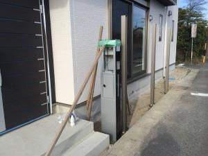 機能門柱工事